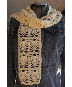 Pineapple Creme Scarf
