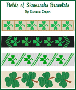 Fields of Shamrocks Bracelet Set