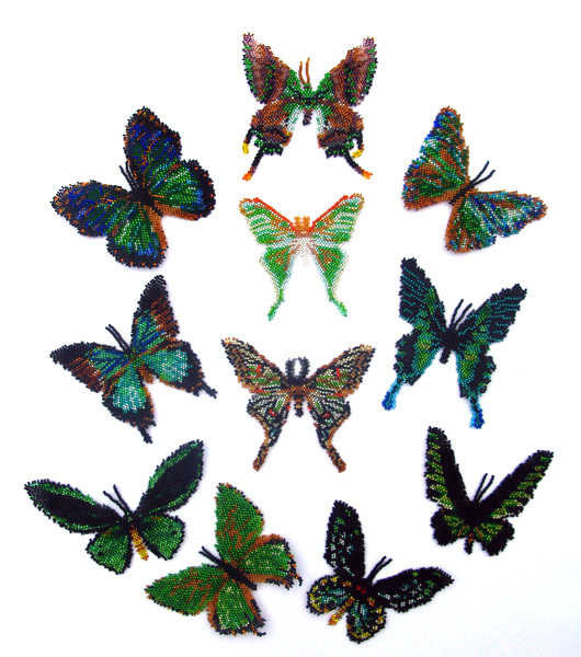 11 Green Butterflies and Moths