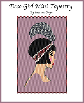 Deco Girl Mini Tapestry