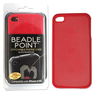 Cell Phone Cover, Beadle Point (Red, iPhone 4/4s)