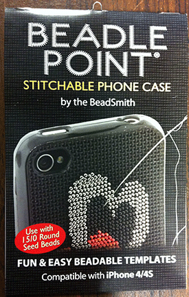 Patterns for Cell Phone Cover, Beadle Point (iPhone 4/4s)