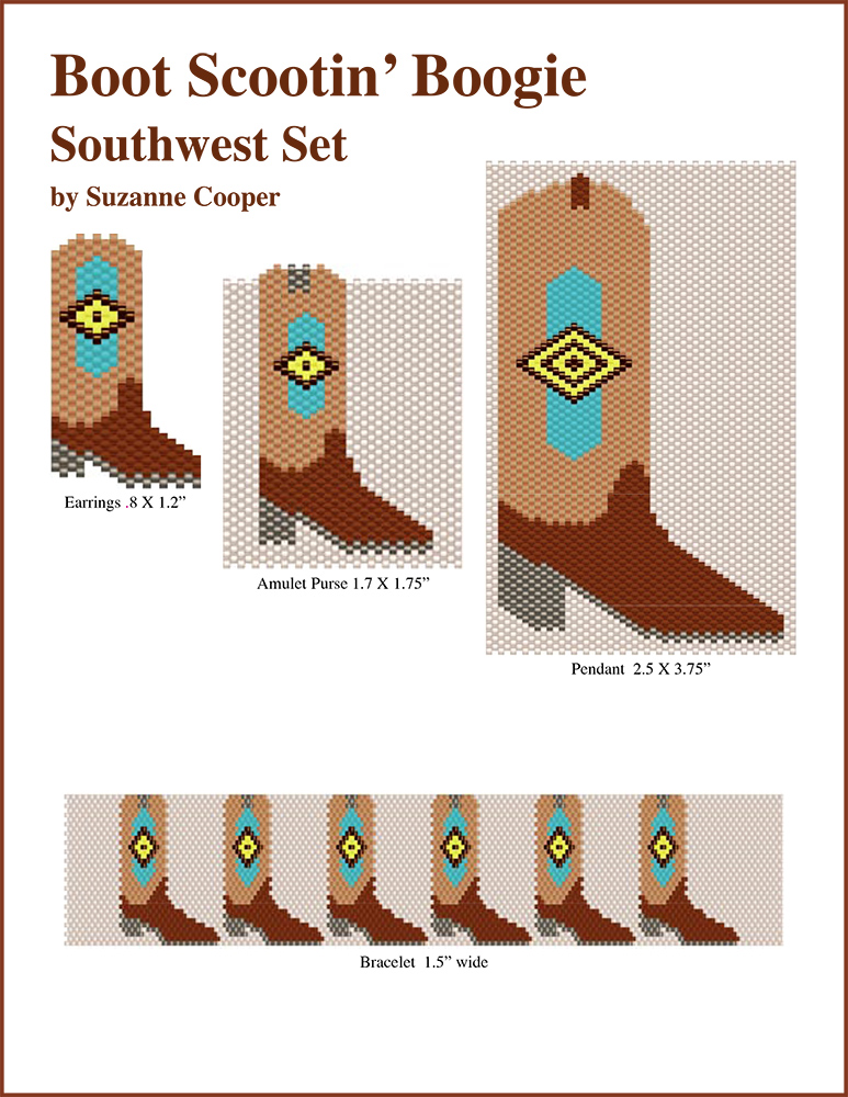 Boot Scootin' Boogie Boots Southwest Set