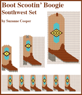 Boot Scootin' Boogie, Boot Set, Southwest