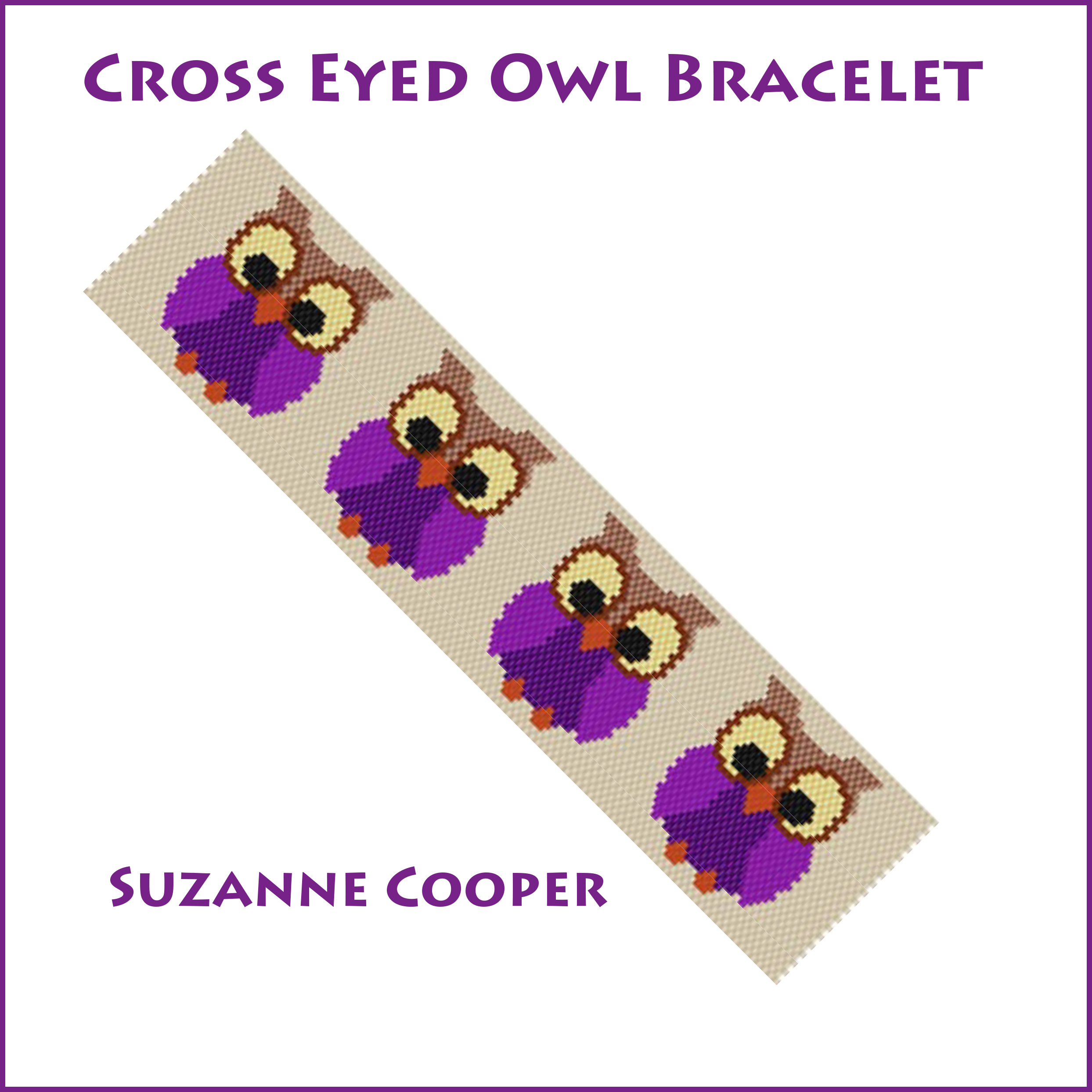 Cross Eyed Owl Bracelet