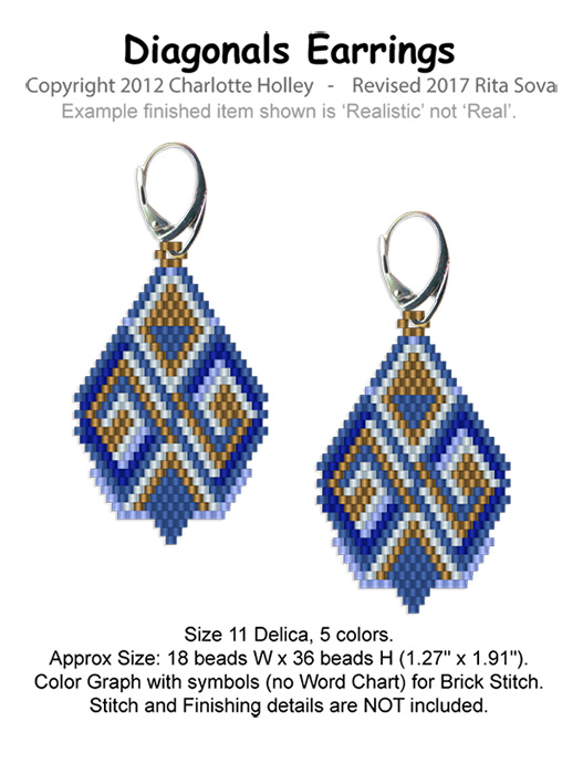 Diagonals Earrings