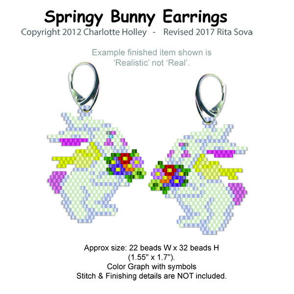 Springy Bunny Earrings