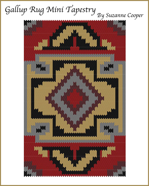Gallup Rug Mini Tapestry