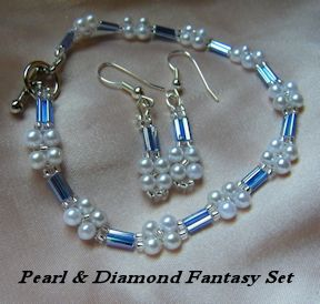 Pearl & Diamond Fantasy Set