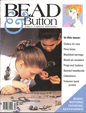 002 Bead & Button Magazine, 1994 April, #2 (Used)
