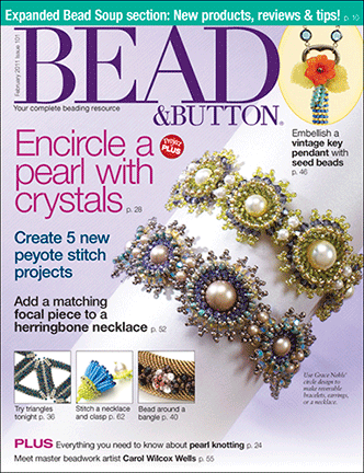 101 Bead & Button Magazine, 2011 February, #101 (Used)
