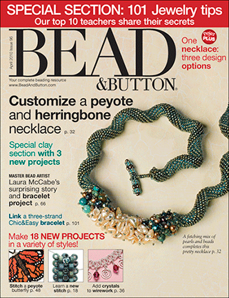 096 Bead & Button Magazine, 2010 April, #96 (Used)