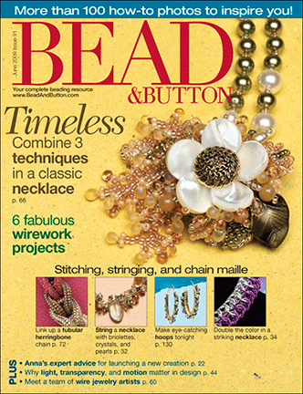 091 Bead & Button Magazine, 2009 June, #91 (Used)
