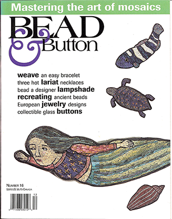 016 Bead & Button Magazine, 1996 December, #16 (Used)