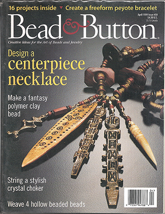 030 Bead & Button Magazine, 1999 April, #30 (Used)