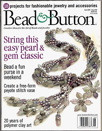 043 Bead & Button Magazine, 2001 June, #43 (Used)