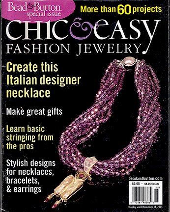 2001 Special Issue, Bead & Button, Chick & Easy (Used)