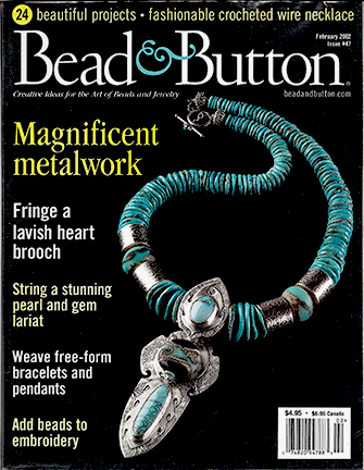047 Bead & Button Magazine, 2002 February, #47 (Used)