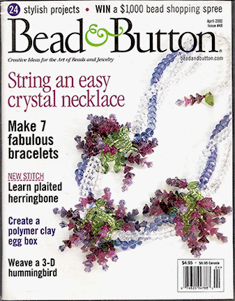 048 Bead & Button Magazine, 2002 April, #48 (Used)