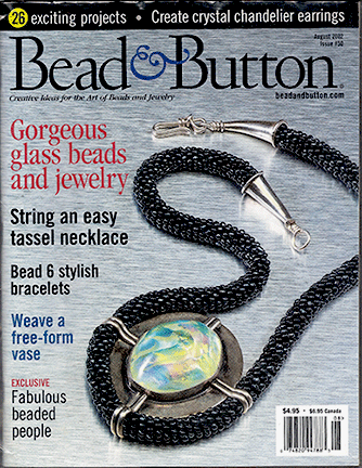 050 Bead & Button Magazine, 2002 August, #50 (Used)