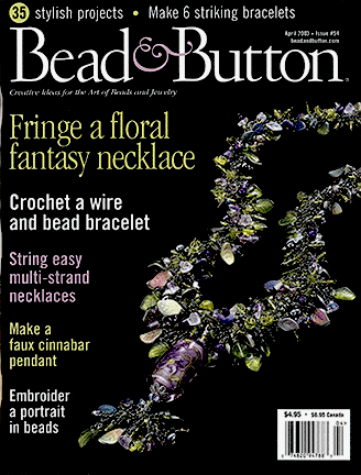 054 Bead & Button Magazine, 2003 April, #54 (Used)