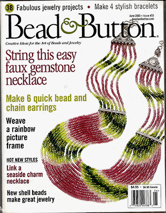 055 Bead & Button Magazine, 2003 June, #55 (Used)