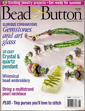 061 Bead & Button Magazine, 2004 June, #61 (Used)
