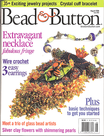 062 Bead & Button Magazine, 2004 August, #62 (Used)