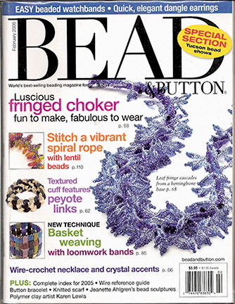 071 Bead & Button Magazine, 2006 February, #71 (Used)