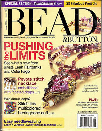 073 Bead & Button Magazine, 2006 June, #73 (Used)