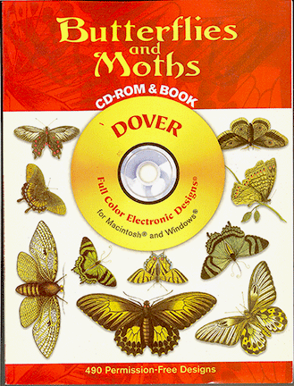 Butterflies and Moths CD-Rom and Book