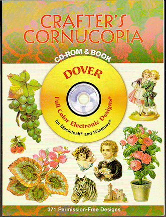 Crafter's Cornucopia CD-Rom and Book