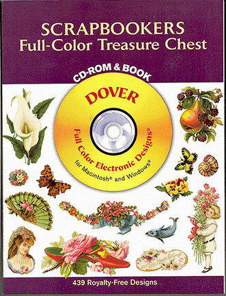 Scrapbookers Full-Color Treasure Chest CD-Rom and Book