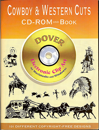 Cowboy & Western Cuts CD-Rom and Book