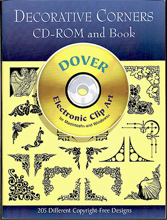 Decorative Corners CD-ROM and Book
