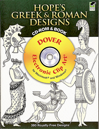 Hope's Greek & Roman Designs CD-Rom and Book