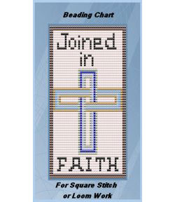 Joined in Faith Cross Beading Chart