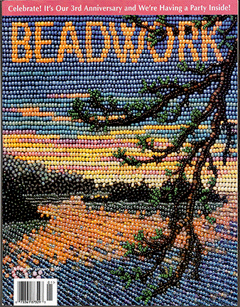 2000 Dec/2001 Jan - BEADWORK magazine Volume 3 Number 7 (Used)