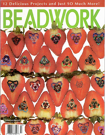 2001 Feb/Mar - BEADWORK magazine Volume 4 Number 2 (Used)