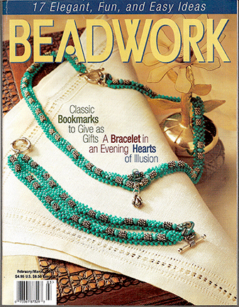 2002 Feb/Mar - BEADWORK magazine Volume 5 Number 2 (Used)