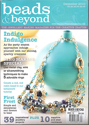 039 - 2010 December, Beads & Beyond Magazine, Issue 39