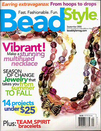 2004 September, Bead Style Magazine, Volume 2 Issue 5