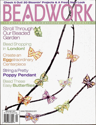 2004 Apr-May - BEADWORK magazine Volume 7 Number 3 (Used)