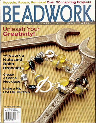 2004 Jun-Jul - BEADWORK magazine Volume 7 Number 4 (Used)