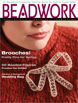 2005 Feb-Mar - BEADWORK magazine Volume 8 Number 2 (Used)