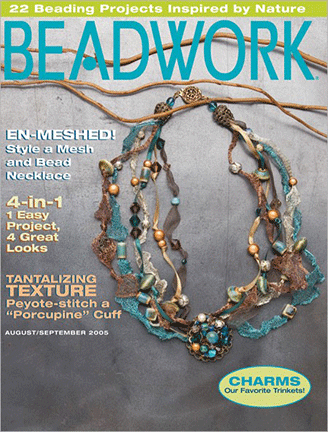 2005 Aug-Sep - BEADWORK magazine Volume 8 Number 5 (Used)