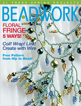 2006 Apr-May - BEADWORK magazine Volume 9 Number 3 (Used)