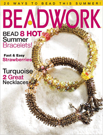 2006 Jun-Jul - BEADWORK magazine Volume 9 Number 4 (Used)