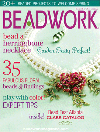 2007 Apr-May - BEADWORK magazine Volume 10 Number 3 (Used)