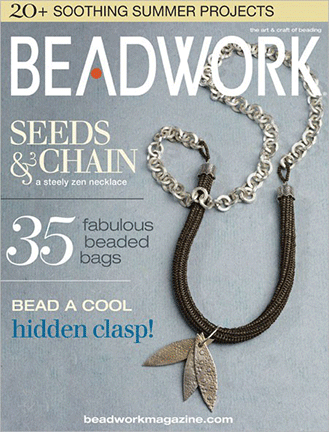 2007 Jun-Jul - BEADWORK magazine Volume 10 Number 4 (Used)